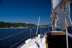 Аренда яхты в Киеве. Прогулки на яхте. Аренда яхты на Днепре. Прогулки на парусной яхте