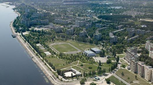 """Фан зона """"Евро 2012"""", г. Украинка"""